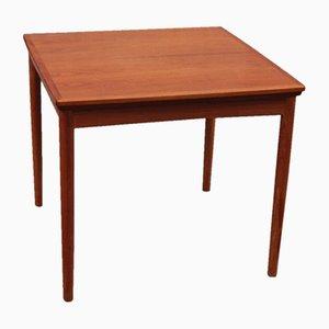 Table de Salon en Teck à Rallonges par Poul Hundevad pour Dogvad Möbelfabrik, Danemark, 1960s