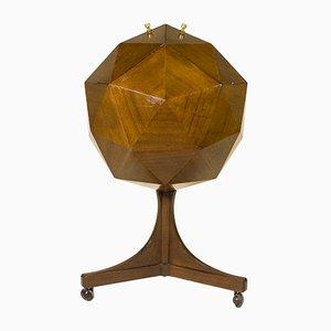 Bar Polyhedron en Acajou, 1955