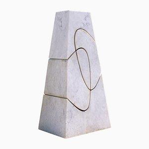 Scultura Cambiamento monumentale di Angelo Mangiarotti, 2006