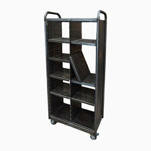 Vintage Industrial Postal Shelving Unit