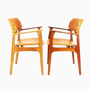 Chaises de Salon Mid-Century Modèle 49 par Erik Buch pour OD Mobler, Set de 2