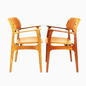Mid-Century Model 49 Dining Chairs by Erik Buch for OD Mobler, Set of 2