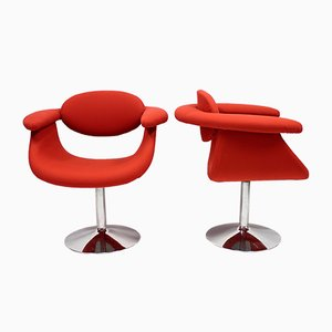 Captains Chairs by Eero Aarnio for Asko, 1970s, Set of 2