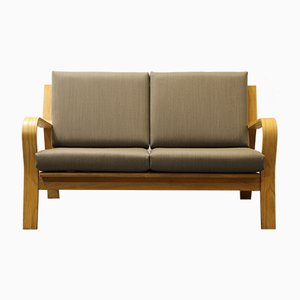 Vintage GE 671 Two-Seater Sofa by Hans J. Wegner for Getama