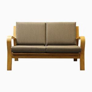 Vintage GE 671 Zweisitzer Sofa von Hans J. Wegner für Getama