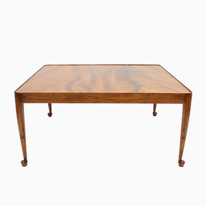 Pyramid Mahogany Diplomat Coffe Table by Josef Frank for Svenskt Tenn, 1980s