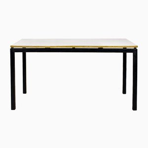 French Cansado Table by Charlotte Perriand for Steph Simon, 1950s