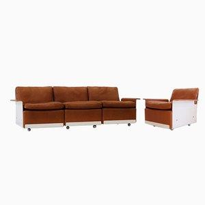 Drei-Sitzer Sofa und Sessel von Dieter Rams für Vitsoe, 1960er