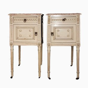 19th Century Bedside Cabinets, Set of 2