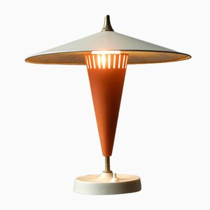 Very Large Mid-Century Metal Table Lamp