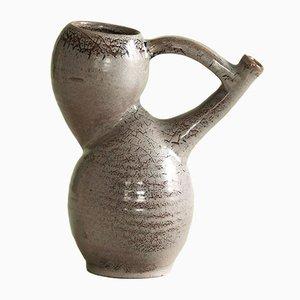 Französische Vase oder Krug von Les Potiers d'Accolay, 1950er