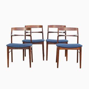 Danish Dining Chairs from Vejle Stole og Mobelfabrik, Set of 4