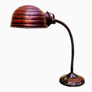 Spanische Vintage Art Deco Schrebtischlampe