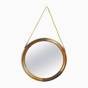 Espejo sueco vintage de Uno & Osten Kristiansson para Luxus