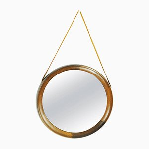 Vintage Swedish Mirror by Uno and Osten Kristiansson for Luxus