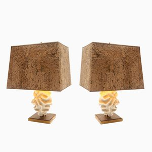 Lampes de Tables Coral, Set de 2