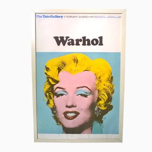 Tate Gallery Exhibition Poster by Andy Warhol, 1971
