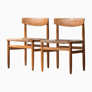 Mid-Century Øresund Chairs by Borge Mogensen for Karl Andersson & Söner, Set of 2