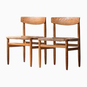 Mid-Century Øresund Stühle von Borge Mogensen für Karl Andersson & Söner, 2er Set