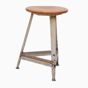 German Industrial Factory Stool
