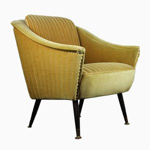 Vintage German Green Armchair, 1950s