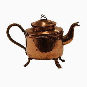 Antike Kupfer Teekanne