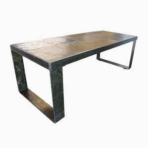 Mid Century Brutalist Coffee Table, 1960s