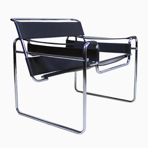 B3 Wassily Lounge Chair by Marcel Breuer, 1960s