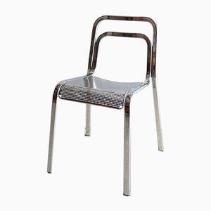 Chaise Vintage en Chrome, Italie