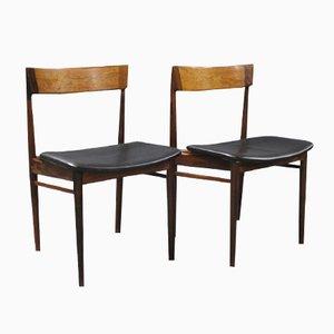 Chaises de Salon Modèle 39 par Henry Rosengren Hansen pour Brande Møbelindustri, 1960s, Set de 2