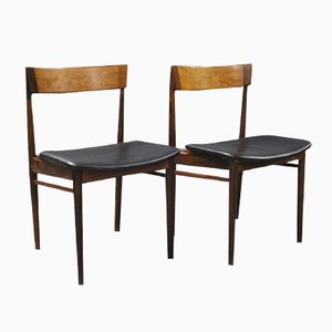 Model 39 Dining Chairs by Henry Rosengren Hansen for Brande Møbelindustri, 1960s, Set of 2
