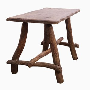 Table en Bois Antique, France