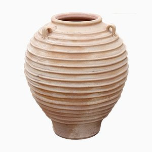 Greek Terracotta Flower Pot, 1970s