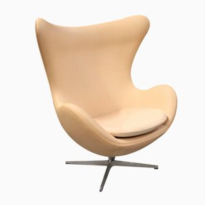 Scandinavian Egg Chair Model 3316 by Arne Jacobsen for Fritz Hansen, 1970s
