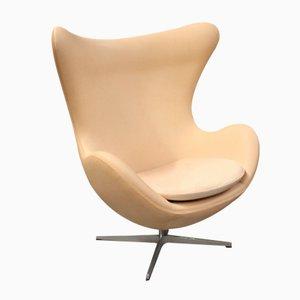 Skandinavischer Egg Stuhl Modell 3316 von Arne Jacobsen für Fritz Hansen, 1970er