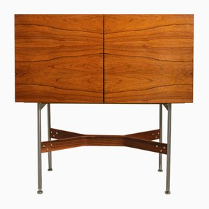 Mueble bar alto de palisandro de Rudolf Glatzel para Fristho, 1962