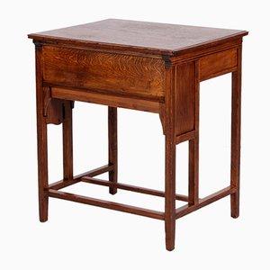 Model Klappauf Oak Folding Desk, 1890s