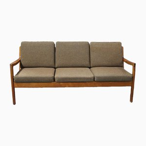 Senator 166 Three-Seater Sofa by Ole Wanscher for France & Son, 1960s