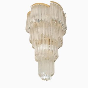 Grand Chandelier by Paolo Venini for Murano, 1960s
