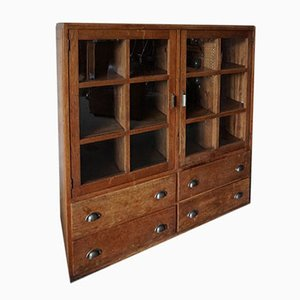 Vintage German Haberdashery Cabinet, 1950s