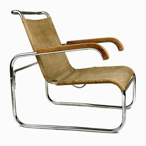 Club chair di Marcel Breuer per Thonet, anni '30
