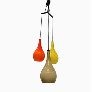 Vintage Murano Glass Pendant Light from Stilnovo