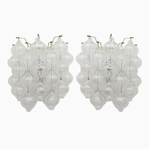 Tulipan Wall Sconces by J.T. Kalmar, 1960, Set of 2