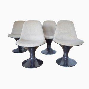 Orbit Stühle von Farner & Grunder für Herman Miller, 1970er, 4er Set