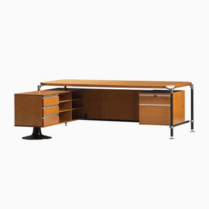 Vintage Executive Desk by Ico Parisi for MIM