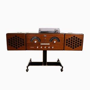 RR 126 FO ST Schallplattenspieler von Pier Giacomo & Achille Castiglioni für Brionvega, 1960er