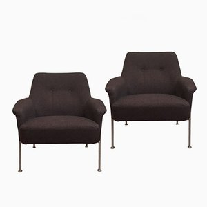 Vintage 162 Armchairs by Theo Ruth for Artifort, Set of 2