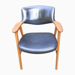 Chaise d'Appoint Mid-Century par Erik Kirkegaard pour Høng Stolefabrik, 1950s