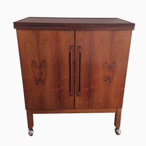 Bar Cabinet in Rosewood by Torbjorn Afdal for Mellemstrands Trevareindustri AS, 1950s