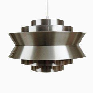 Lámpara colgante Trava de aluminio de Carl Thore para Granhaga Metal Industri, años 60